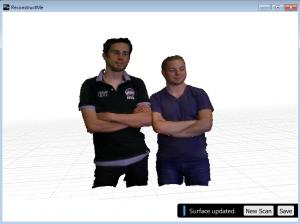 ReconstructMe 2.0 -Team