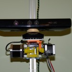 Microsoft Kinect for XBOX sensor mounted on Scanoman
